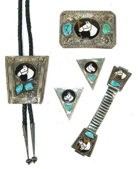 Zuni Inlay Jewelry Set - Isabelle Simplicio