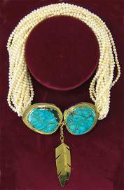 Famous Navajo Necklace - Ray Tracey