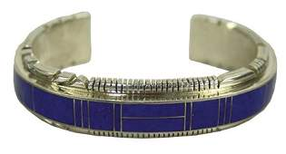 Zuni Inlay Bracelet - Thomas Francisco
