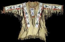 Teton Sioux Beaded War Shirt