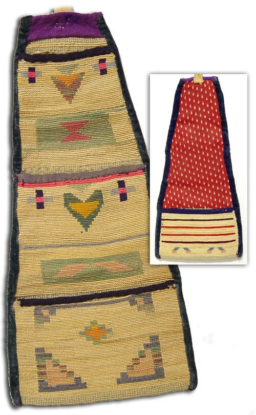 515: Nez Perce Cornhusk Bag