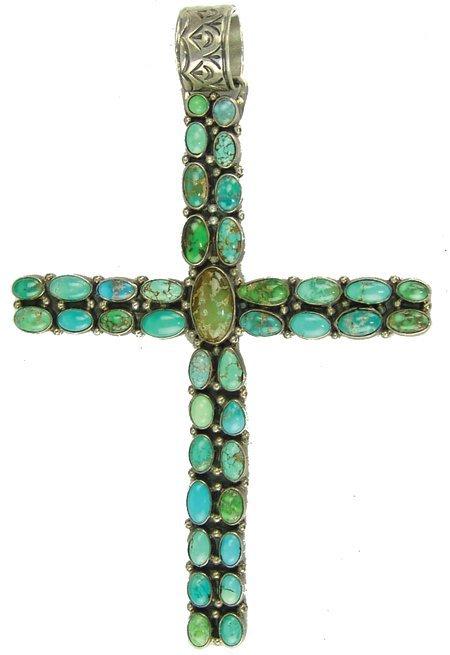 Navajo Cross Pendant
