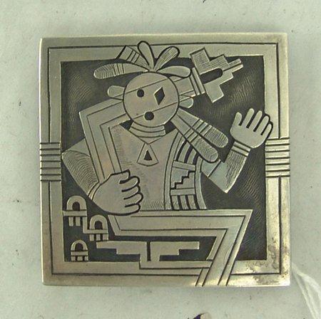 Hopi Belt Buckle - Michael Kabotie - 2