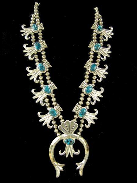 Navajo Necklace - Dene Tsosie Binie