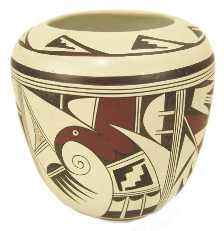 Hopi Pottery Jar - Joy Navasie (Frog Woman)
