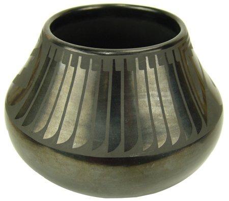 San Ildefonso Pottery Jar - Maria & Popovi