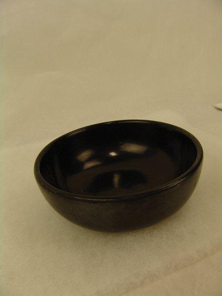San Ildefonso Pottery Bowl - Maria Poveka - 3