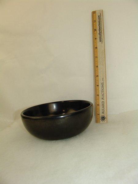San Ildefonso Pottery Bowl - Maria Poveka - 8