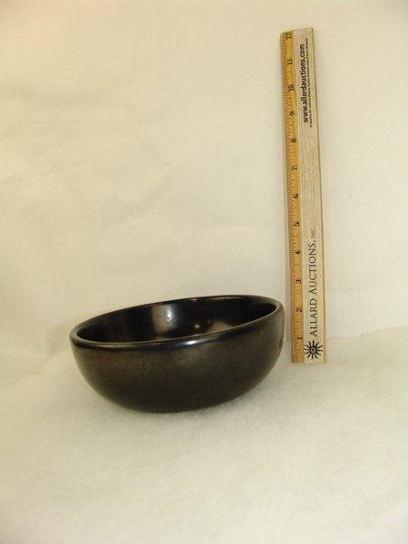 San Ildefonso Pottery Bowl - Maria Poveka - 9