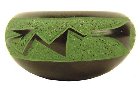 San Ildefonso Pottery Bowl - Jennifer Sisneros