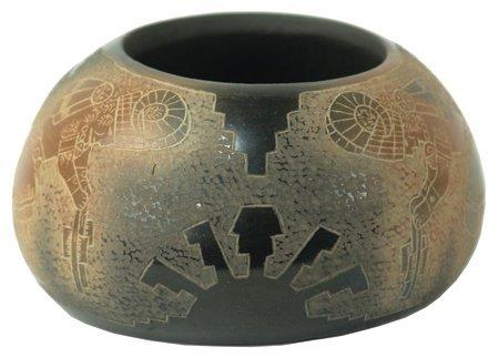 Santa Clara Pottery Bowl - Dan Tafoya