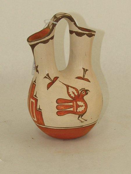 Zia Pottery Jar - Ruby Panana - 2