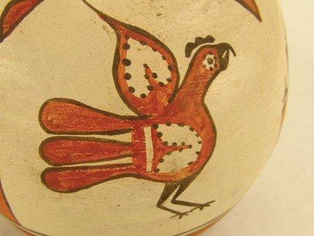 Zia Pottery Jar - Ruby Panana - 5