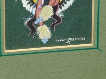Loren Pahsetoph, Osage (b.1943) - 7