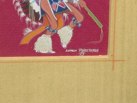 Loren Pahsetoph, Osage (b.1943) - 8