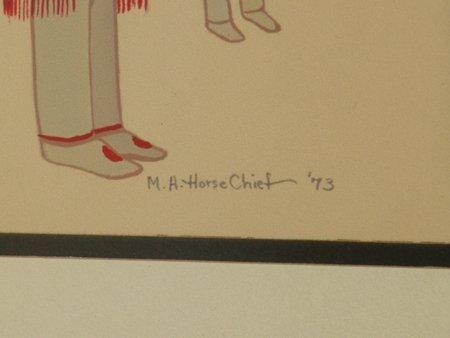 Mary Adair Horse Chief, Cherokee (b.1936) - 4