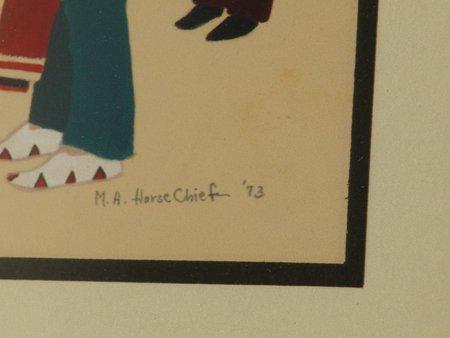 Mary Adair Horse Chief, Cherokee (b.1936) - 5