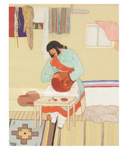 Pablita Velarde, Santa Clara (1918-2006)