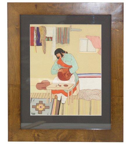 Pablita Velarde, Santa Clara (1918-2006) - 2