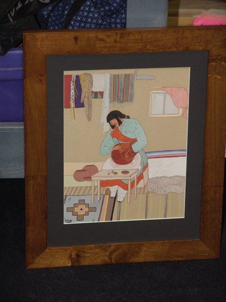 Pablita Velarde, Santa Clara (1918-2006) - 3