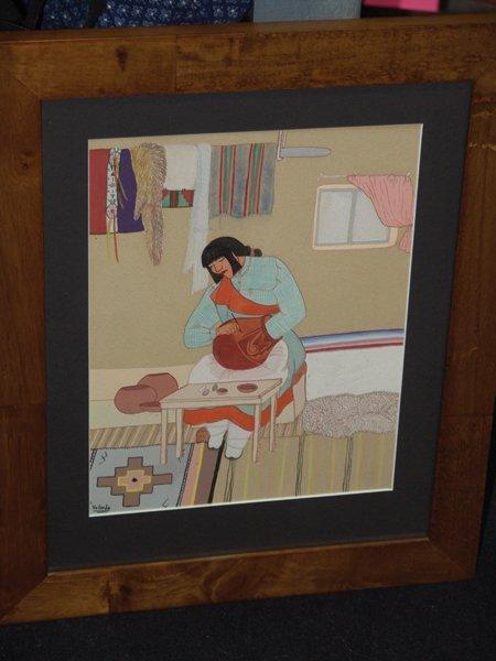 Pablita Velarde, Santa Clara (1918-2006) - 4