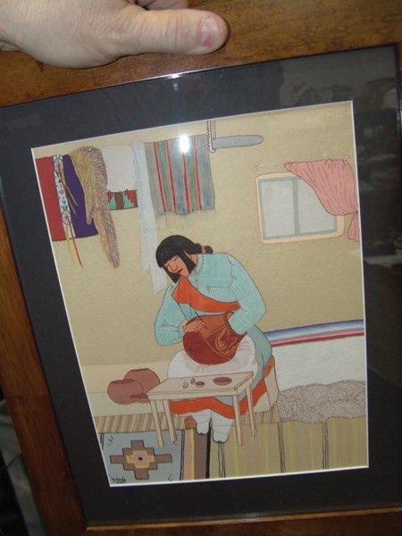 Pablita Velarde, Santa Clara (1918-2006) - 7