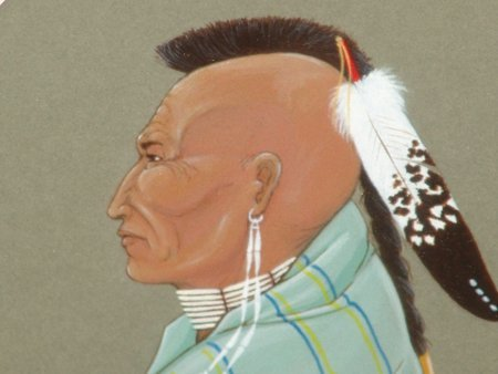 Randy Wood, Seminole (1942-1982) - 2