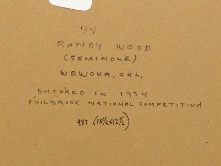 Randy Wood, Seminole (1942-1982) - 4