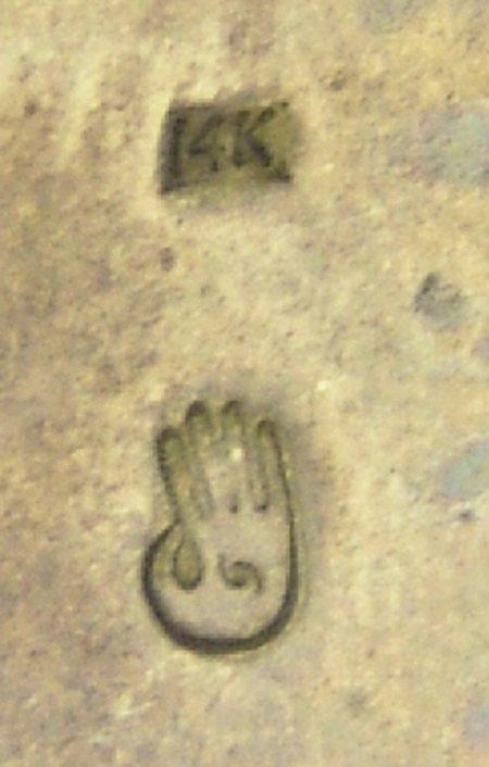 Hopi Gold & Silver Bracelet - Watson Honanie - 6