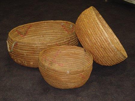 3 Jicarilla Baskets - 4