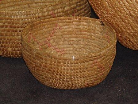 3 Jicarilla Baskets - 5