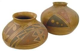 2 Casas Grandes Pottery Jars - Yolanda Soto