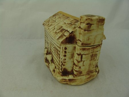 McCoy Log Cabin Cookie Jar - 6