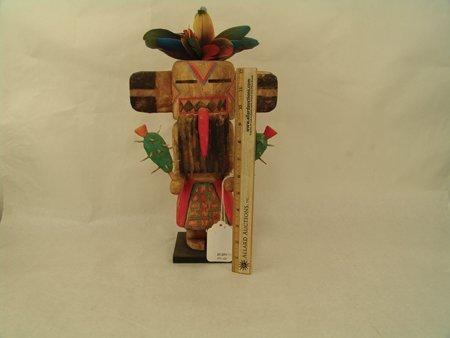 2 Hopi Kachina Carvings - Greg Lomayesva - 10