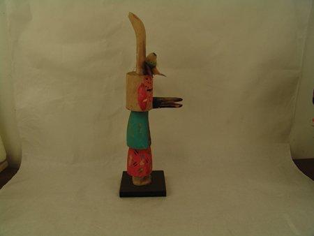 2 Hopi Kachina Carvings - Greg Lomayesva - 3