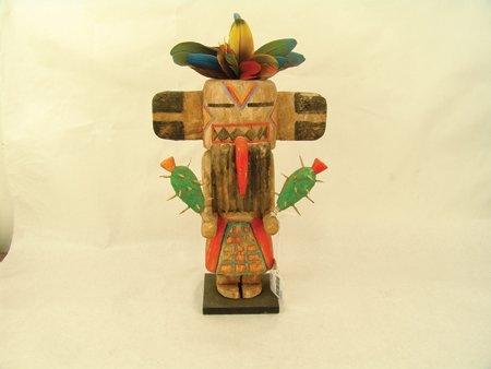 2 Hopi Kachina Carvings - Greg Lomayesva - 6