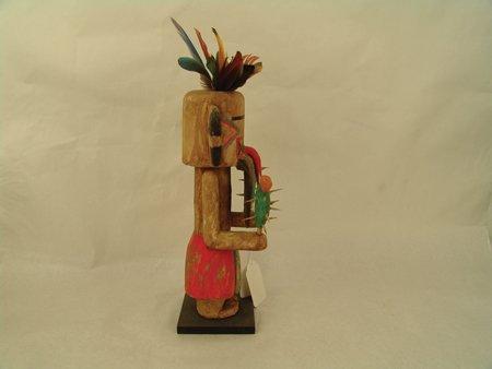 2 Hopi Kachina Carvings - Greg Lomayesva - 7