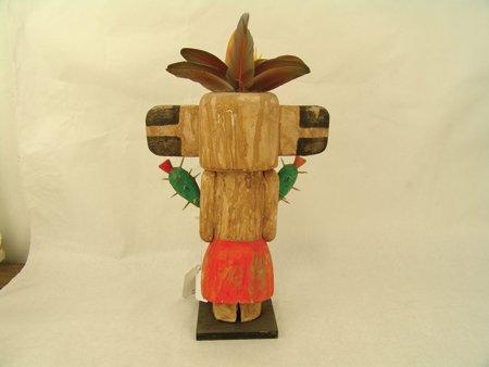 2 Hopi Kachina Carvings - Greg Lomayesva - 8