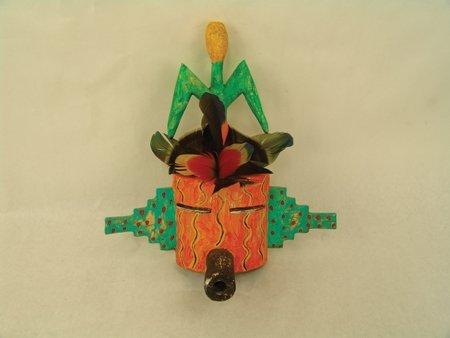 3 Hopi Kachina Carvings - Greg Lomayesva - 2