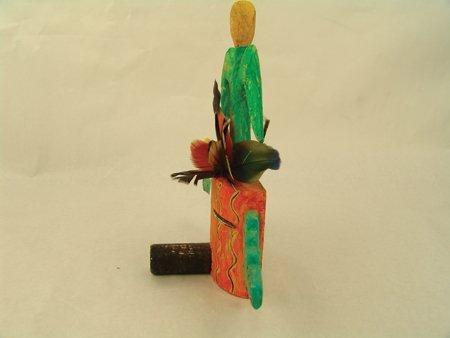 3 Hopi Kachina Carvings - Greg Lomayesva - 9