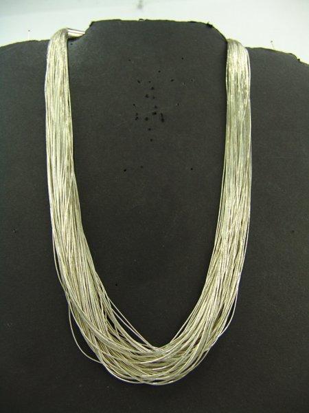 Liquid Silver Necklace - 2