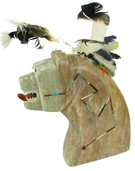 Isleta Stone Sculpture - Andy Abeita
