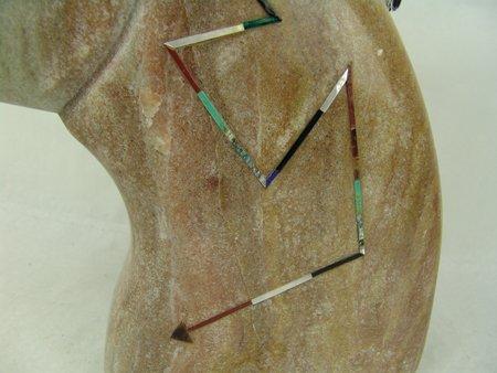 Isleta Stone Sculpture - Andy Abeita - 4