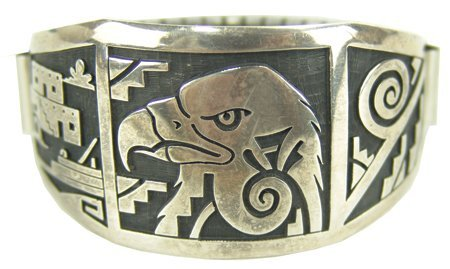 Hopi Silver Bracelet