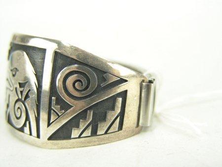 Hopi Silver Bracelet - 3