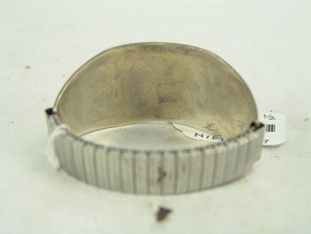 Hopi Silver Bracelet - 5