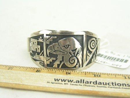 Hopi Silver Bracelet - 6