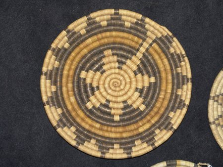 3 Hopi Baskets - 2