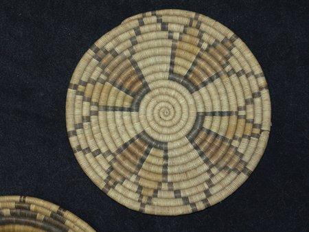 3 Hopi Baskets - 3