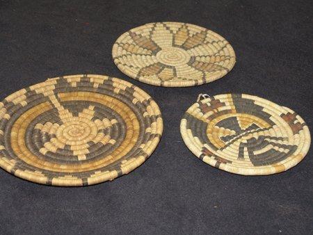 3 Hopi Baskets - 5